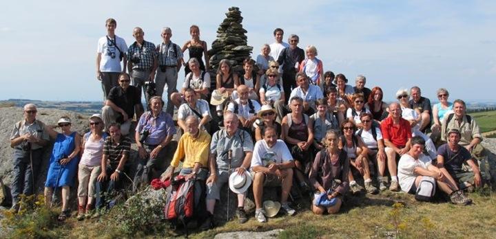 Herborisation dans le Lévèzou le 4 août 2012