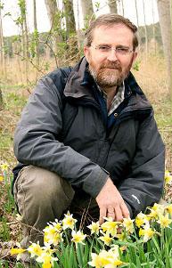 Mikel Lorda López, auteur du « Catálogo florístico de Navarra