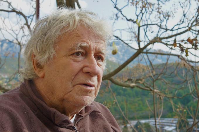 Pierre Quézel, février 2012, photo Frédéric Médail