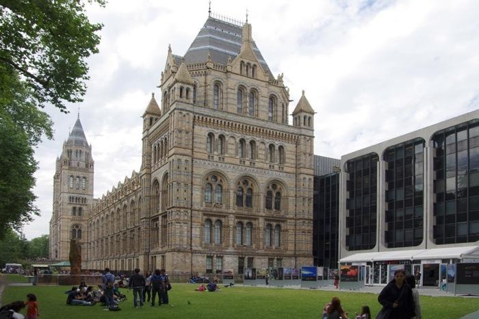 La remarquable architecture du bâtiment principale du NHM