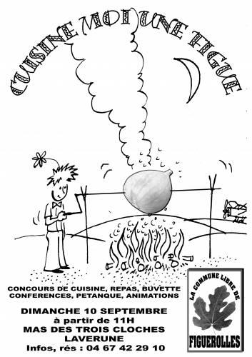 Affiche concours cuisine