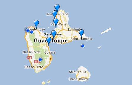 exemple : Observatoire de la flore de Guadeloupe