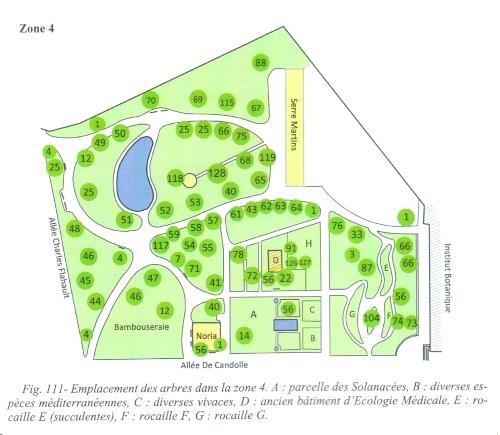 Une zone du Jardin des Plantes
