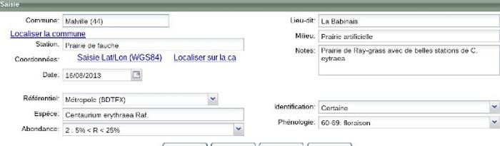 Souvent Fiche pratique : Créer ses étiquettes d'herbier avec le Carnet en  NB06