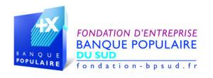 logotype Fondation Banque populaire du Sud