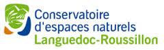 logotype Conservatoire d'espaces naturels du Languedoc-Roussillon