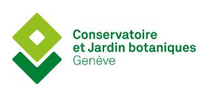logotype Conservatoire et jardin botaniques de la ville de Genève