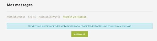 Mes messages