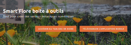 Page projet Smart'Flore du site Internet de Tela Botanica - CC BY-SA Tela Botanica
