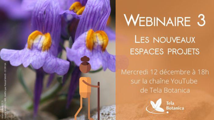 Les espaces projet sur Tela Botanica