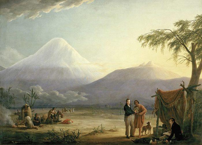 Humboldt et Aimé Bonpland