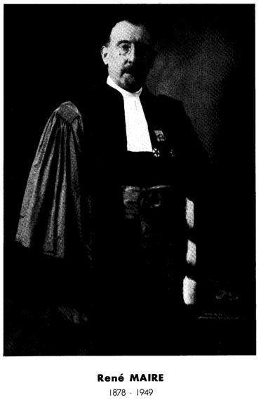 Figure 1 Portrait du maitre Rene Maire