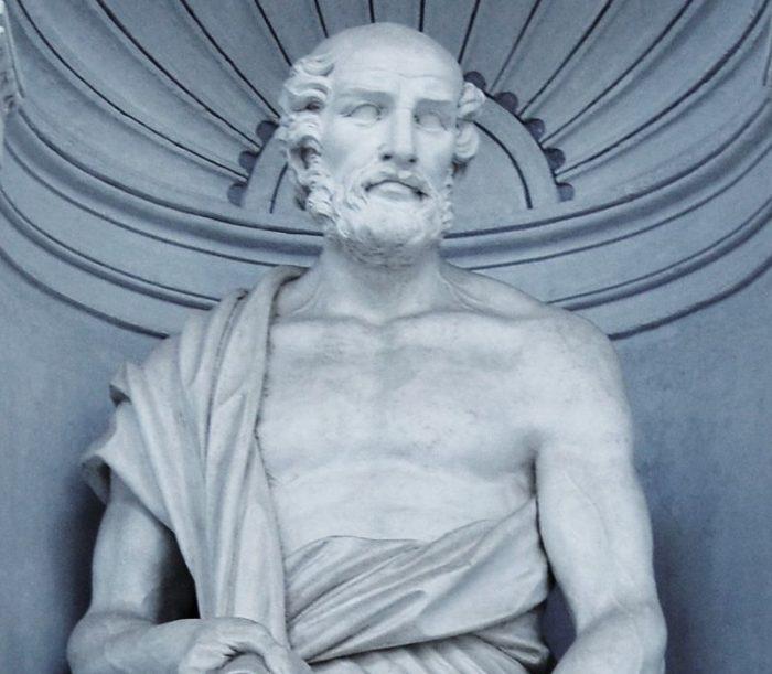 Statue de Théophraste