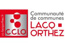 logo de la communauté de commune de Lacq-Orthez