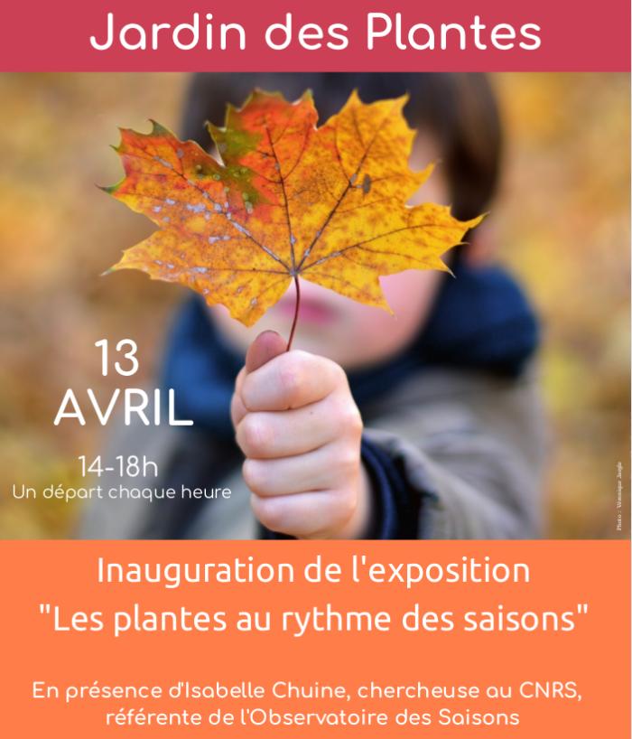 Exposition au Jardin des Plantes