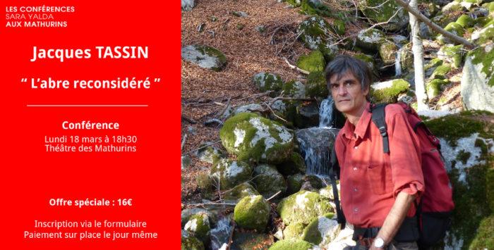 Offre spéciale - Conférence Jacques Tassin