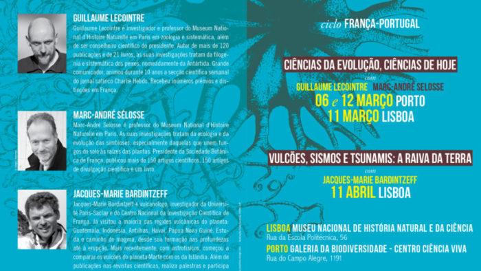 """Programme """"Sciences de l'évolution, sciences d'aujourd'hui"""" (Lisbonne -  Porto)"""