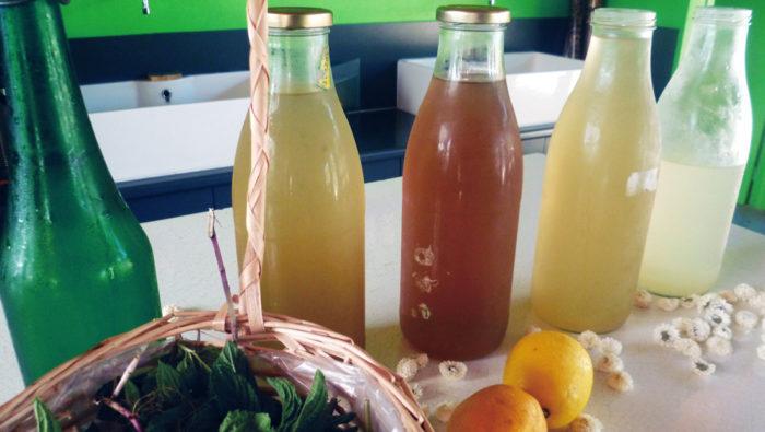 limonade et sirops