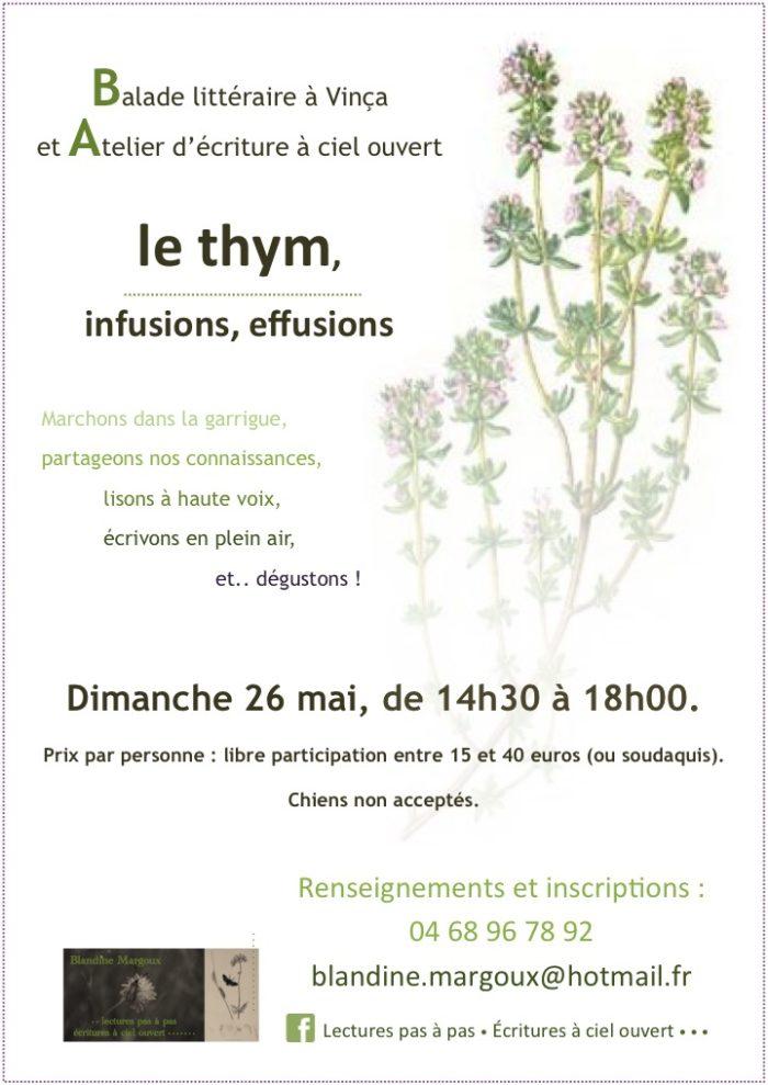 Blandine Margoux - Thym - 26 mai