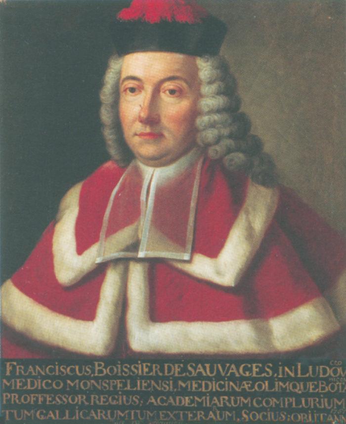 Portrait de  François Boissier de Sauvages