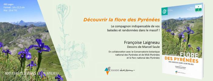 Couverture Fb Découvrir la flore des Pyrénées