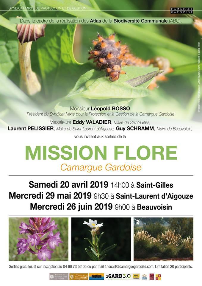 mission flore camargue gardoise
