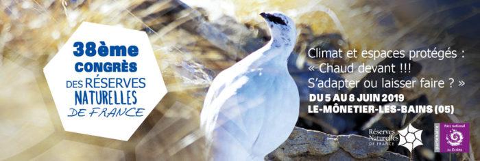 Bandeau Congrès des Réserves Naturelles de France