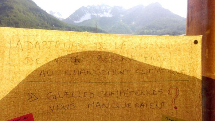 Besoin en compétence pour adapter la gestion des réserves au changement climatique - Licence CC BY-SA (Tela Botanica)