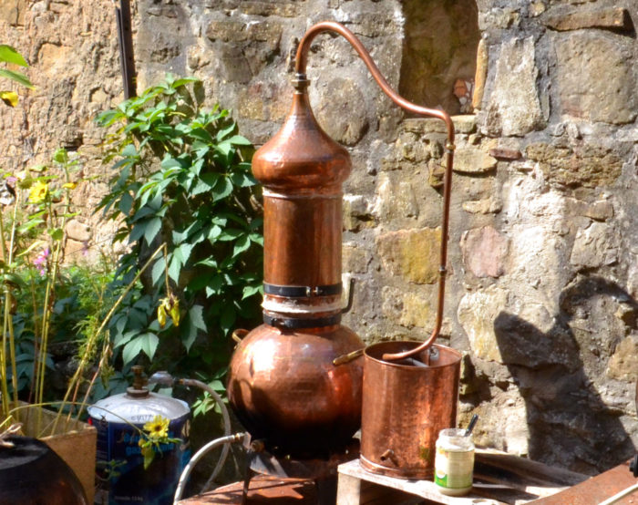 photo distillateur