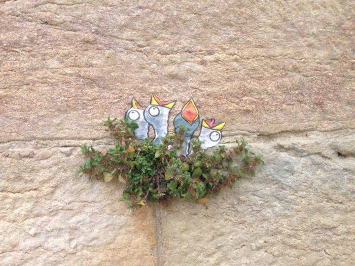 Street art botanique à Lyon