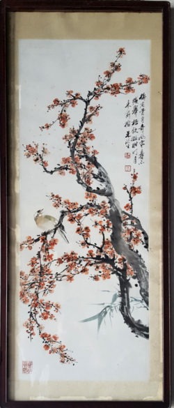 Peinture de fleurs de prunus, Jardin des Arts (艺圃 [yìpǔ]), Suzhou