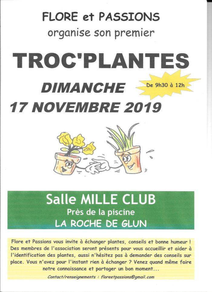 AFFICHE TROC PLANTES