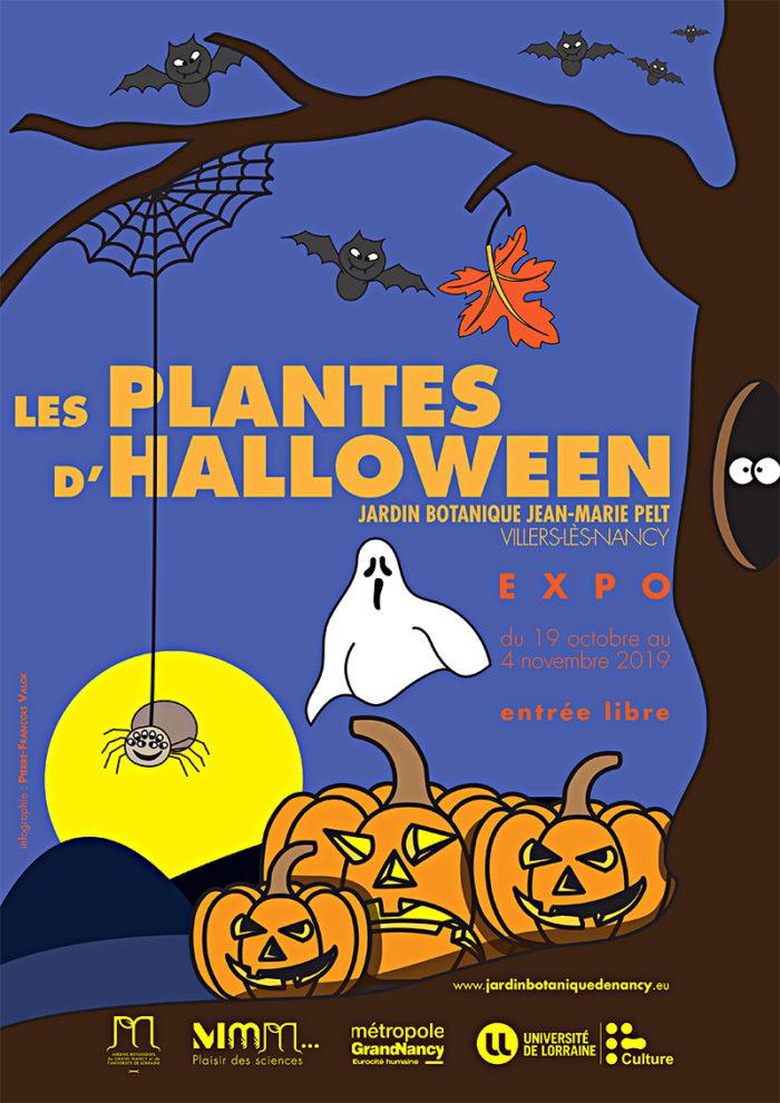 Affiche Plantes d'Halloween