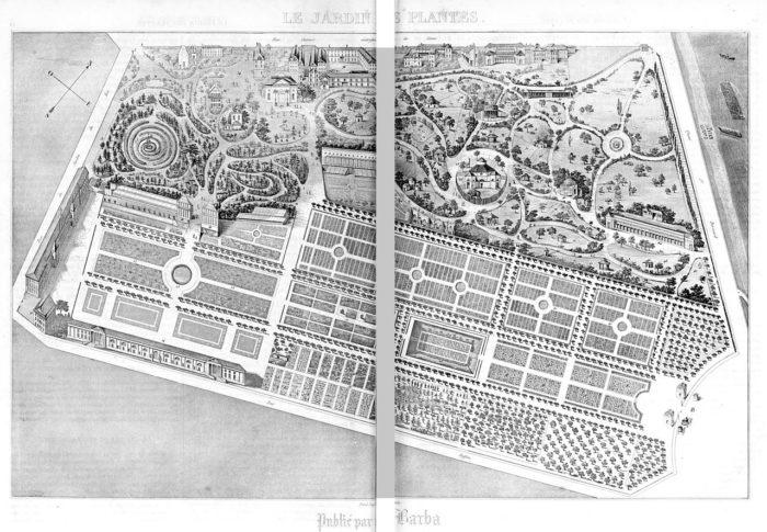 Jardin des plantes de Paris 1851 - Boitard Pierre et Janin Jules Gabriel