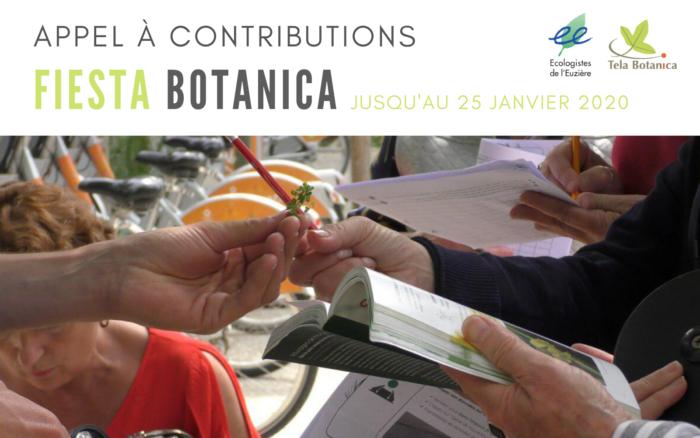Appel à contribution Fiesta Botanica