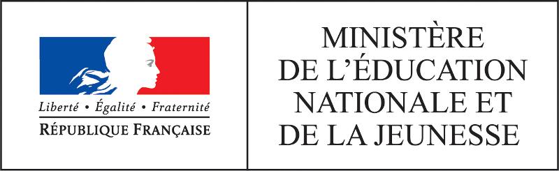 logotype Ministère de l'éducation nationale et de la jeunesse