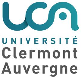 logotype Université Clermont Auvergne et associés