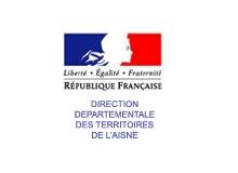 logo direction départementale des territoires de l'Aisne aisne