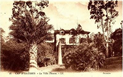 Carte postale de la Villa Thuret 1889