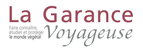 logotype la garance voyageuse