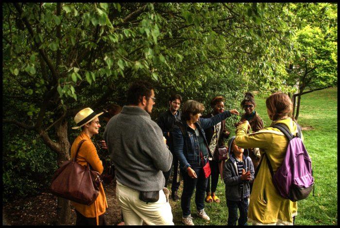 Balade au Parc Montsouris avec Flora Delalande