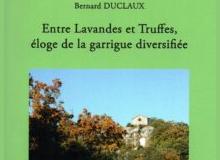 couverture livre entre lavandes et truffres