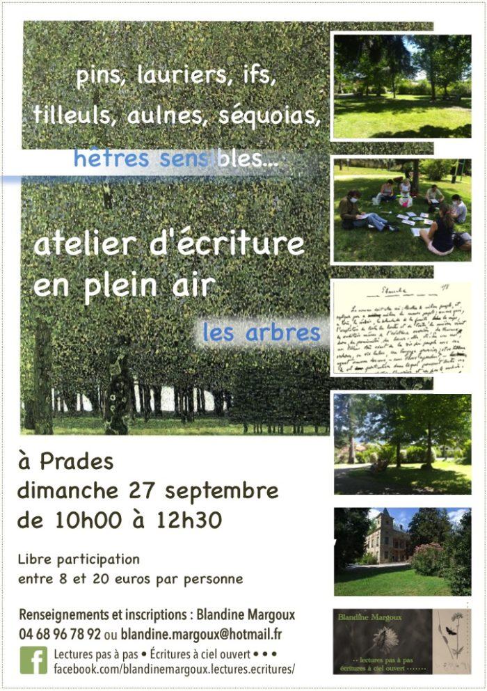 Lectures pas à pas - Arbres au parc Pams - 27 septembre 2020 - Diaporama