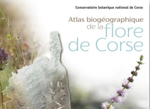 couverture Atlas biogeographique de la flore de corse