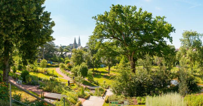 3 espaces verts de loisirs (Commune de Chemillé-en-Anjou