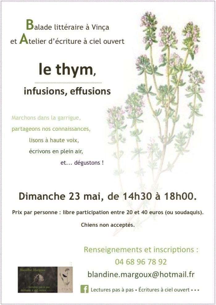 Blandine Margoux - Thym - 23 mai 2021 - Diaporama