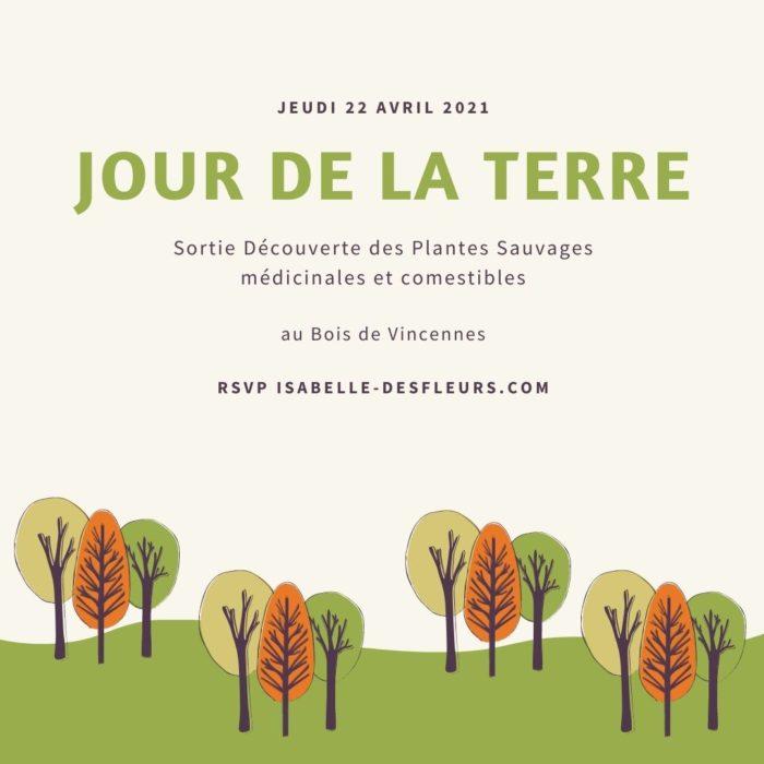 Jour de la Terre 2021 - Sortie Plantes sauvages au Bois de Vincennes