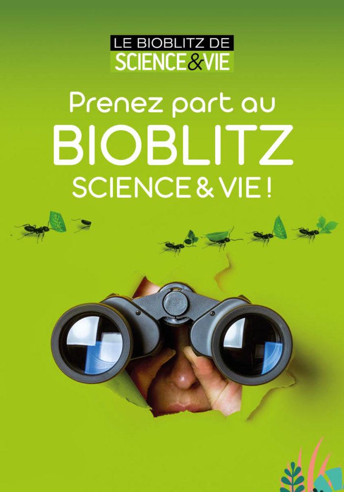 Affiche Bioblitz de Science & Vie