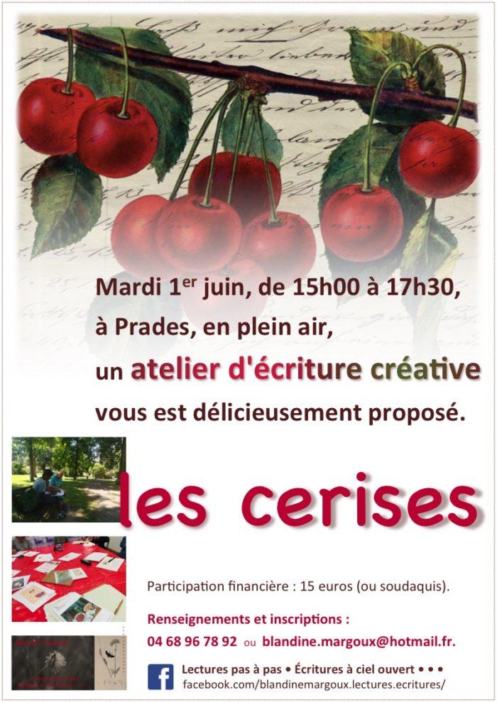 Blandine Margoux - Cerises - 1er juin 2021, parc Pams - Affiche A4