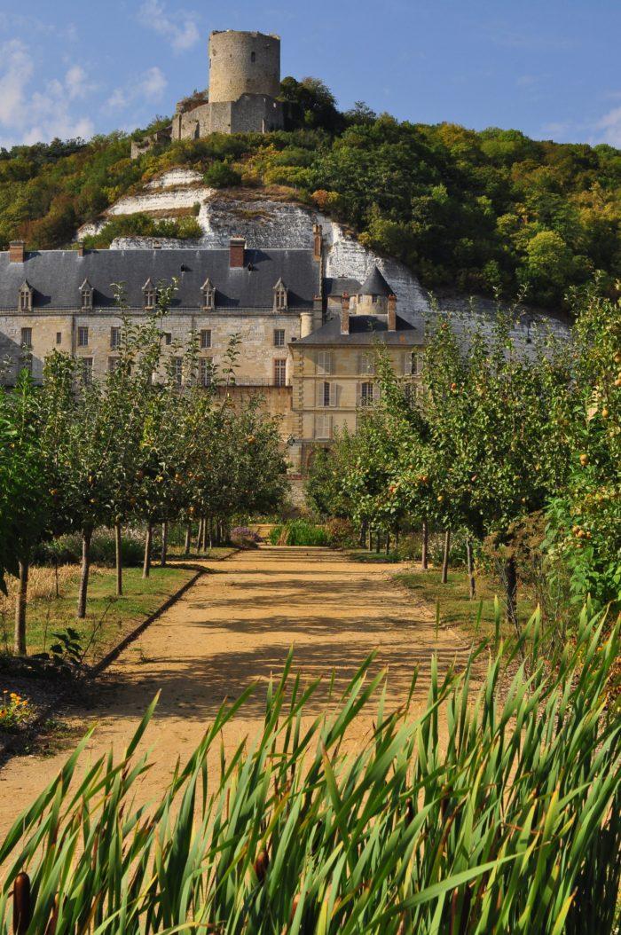 Vue du château depuis le Potager-fruitier© Pauline Fouché